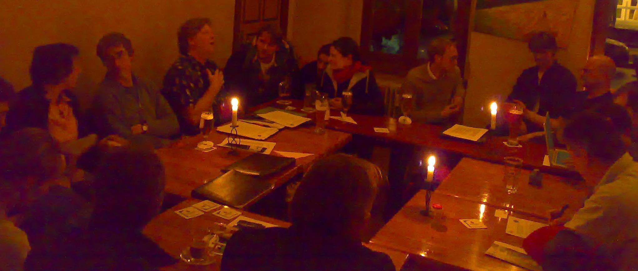 Rege Diskussion beim 23. Jour Fixe - Foto Paulina Bocheñska