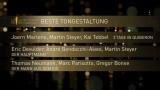 Die nominireten für Beste Tongestaltung 2018