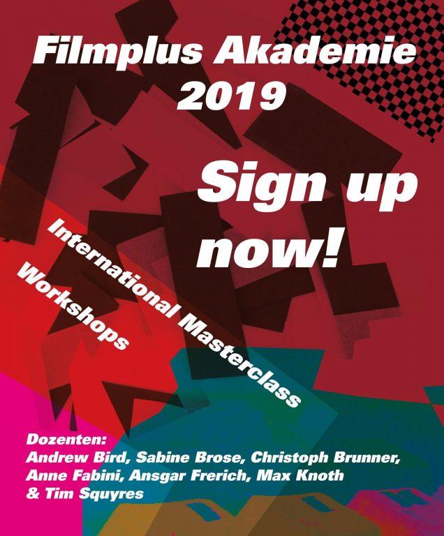 Plakat der Filmplus Akademie
