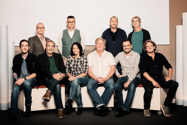 Gruppenfoto der anwesenden europäischen Filmtonschaffenden
