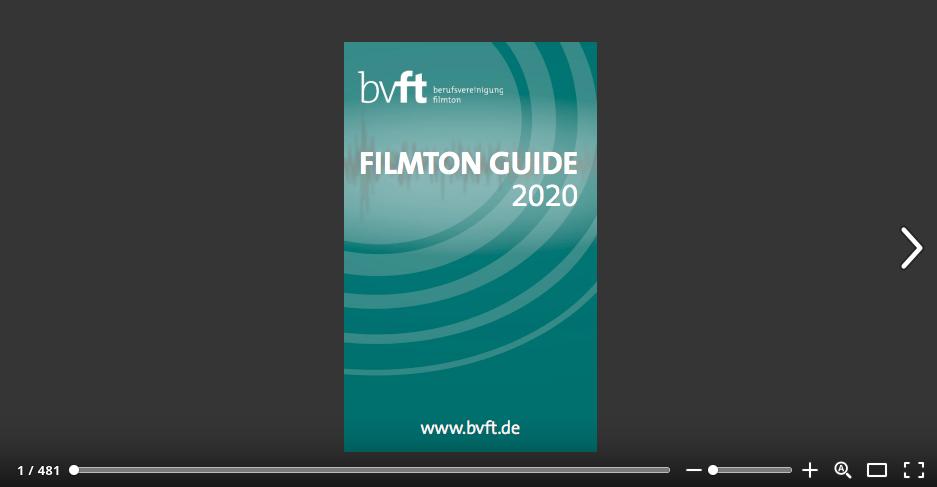 Filmton Guide 2020