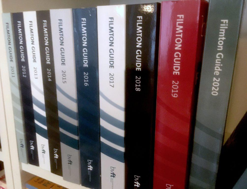 Foto der Filmton Guides 2011 bis 2020